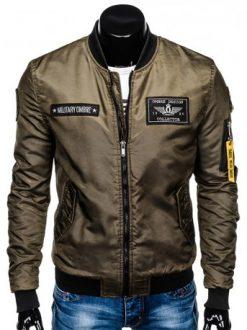 vojaška moška jakna