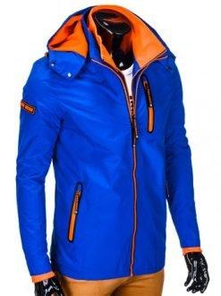 modna moška jakna z kapuco