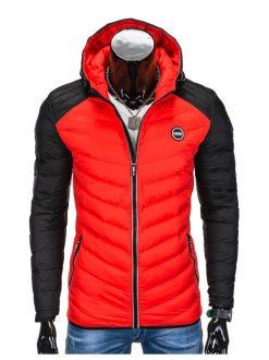 šivana moška zimska bunda
